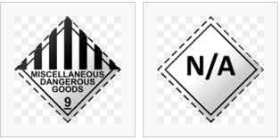 hazardous type 9 labels