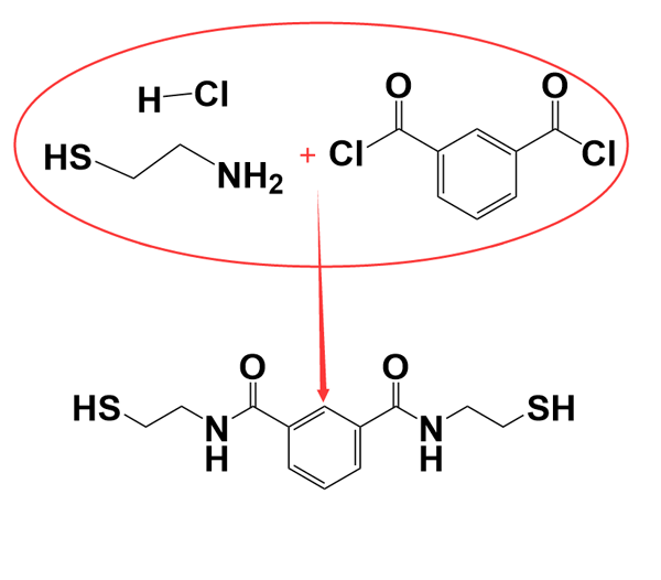 Emeramide synthesis route