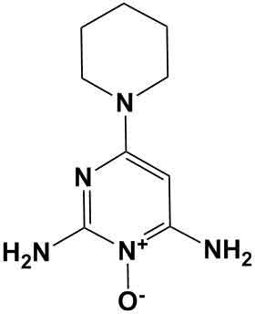 minoxidil chemical structure