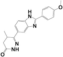 pimobendan chemical structure