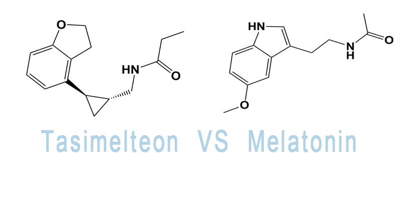 tasimelteon vs melatonin