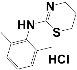 xylazine hydrochloride chemical structure